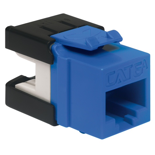 Cat A Ic Gabl Blue on Work Cable Punch Down