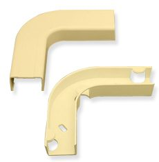 "3/4"" Raceway Flat Elbow and Base"