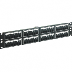 Voice 6P4C Patch Panel with Male Telco in 48 Ports and 2 RMS