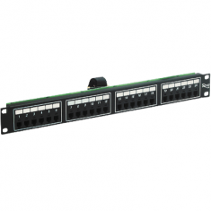 Voice 8P2C Patch Panel with Female Telco in 24 Ports and 1 RMS