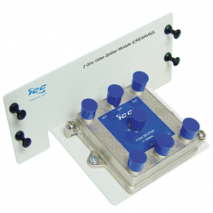 Video Splitter Module with 6 Ports and 2 GHz