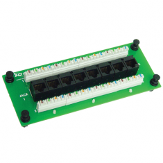 Data Module CAT 5e with 8 Ports