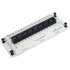Data Module Deluxe Series CAT 5e with 8 Ports