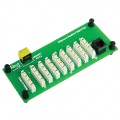 Voice and Phone Module with RJ-31X and 8 Ports