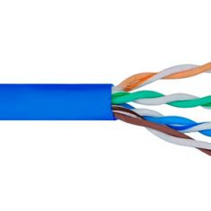 500Mhz CAT6 Bulk Cable with 24 AWG UTP Solid Wires, CMR Jacket in a Pull Box, 1000 Feet