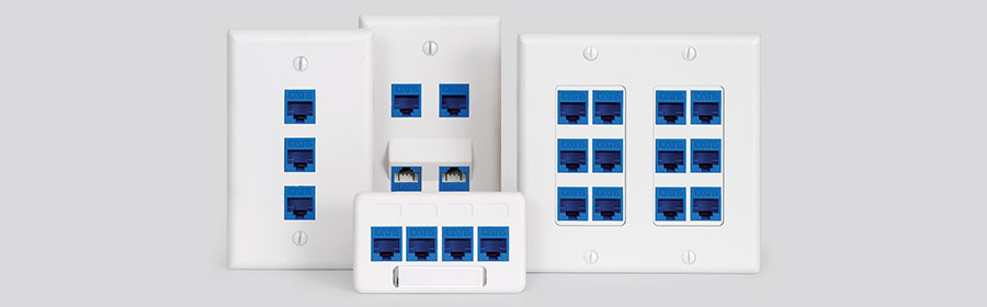 wall plate, decorex faceplate, furniture faceplate, and angled faceplate
