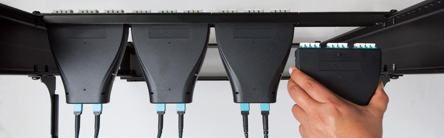 Plug and Play Fiber Optic Patch Panel